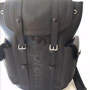 LV Supreme Backpack (BLK) TEXT (702) 867-0280‼️‼️